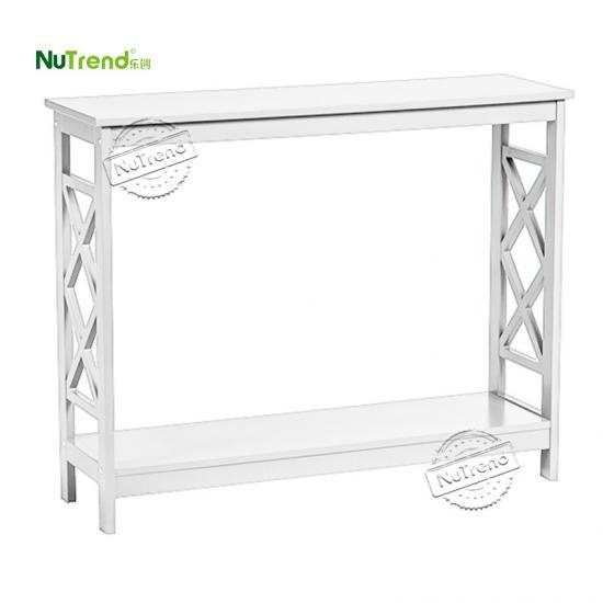 Modern Narrow Wood Sofa Table furniture factory china