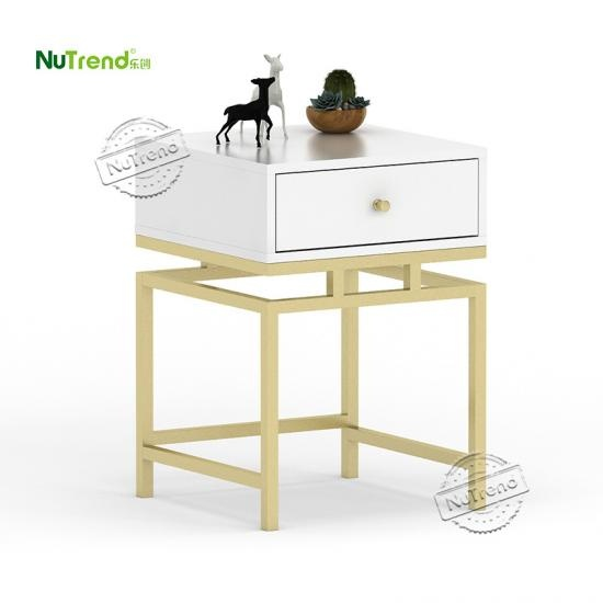 Golden Metal and Wood Modern Furniture Supplier