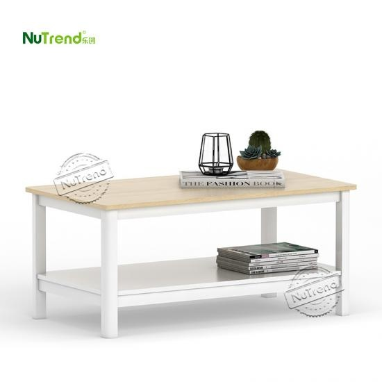 wholesale White Wooden Coffee Table Furniture Factory China