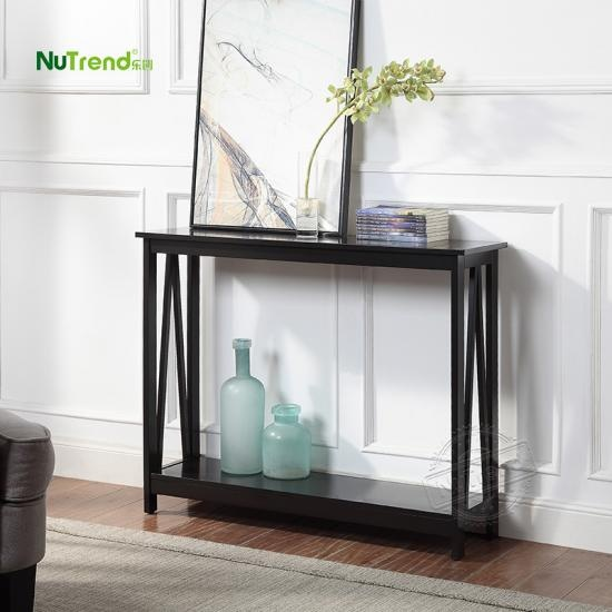 Wooden Narrow Console Table For Small Hallway Factory China
