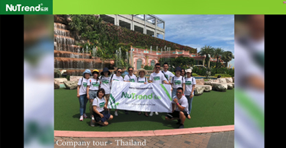 Nutrend Thailand And Ningde Tour